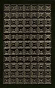 Terrace  Collection Outdoor Rug - Ansley - Black