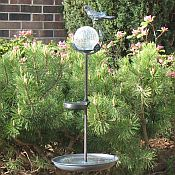 Aquarius Birdbath Solar Stake Light