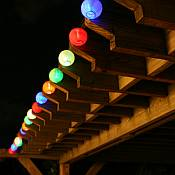 Solar Chinese Lantern String Lights - 3711MR20
