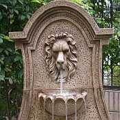 Lucerne Lions Head Electric Fountain