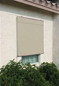 Sunsational Exterior Solar Shades - 8ft x 6ft Beige