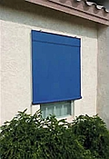 Sunsational Exterior Solar Shades - 4ft x 6ft Pacific Blue