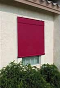 Sunsational Exterior Solar Shades - 8ft x 6ft Burgundy