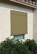 Sunsational Exterior Solar Shades - 6ft x 6ft  Sage