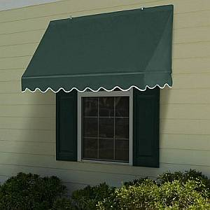 Traditional Retractable Window Awnings
