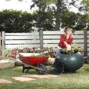 Ecomposter Rolling Compost Tumbler