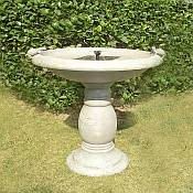 Outdoor Bird Baths<br>and Bird Houses
