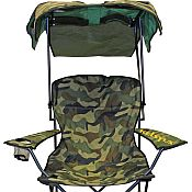 Folding Canopy Chair - Camo