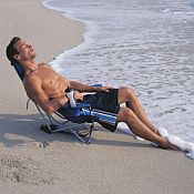 Recline Backpack Folding Beach Chair