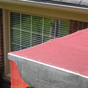 How to Install Shade Cloth Fabric