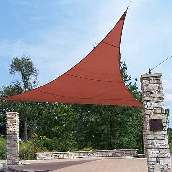 Shade Sails made with Commercial 95 Material