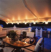 SunSetter Awning Patio Lights
