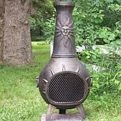 Sun Stack Chiminea Outdoor Fireplace