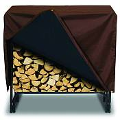 Designer Protective Firewood Rack Covers
