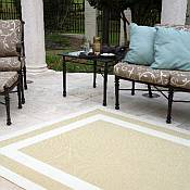 Outdoor Rugs with DuraCord Fabric by The Hammock Source Company