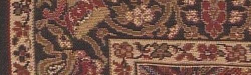Capri Panel Red Rug