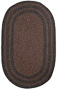 Stripe Brown Lenox Braided Everywear� Rug