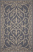 Patio Everywear� Rug  Wrought Iron Denim