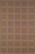 Patio Everywear� Rug  Squares Oatmeal