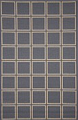 Patio Everywear� Rug  Squares Denim