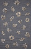 Patio Everywear� Rug  Seashell Denim
