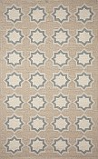Ravella Everywear™ Rug   - Geo Star Blue