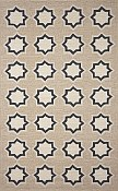 Ravella Everywear™ Rug   - Geo Star Black