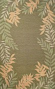 Spello Everywear™ Rug - Fern Border Green