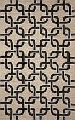 Spello Everywear™ Rug - Chains Black