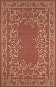 Terrace Everywear� Rug - Aubusson Terracotta
