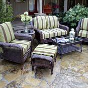 Tortuga  Lexington 6 pc. Resin Wicker Furniture