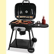 Deluxe Outdoor Charcoal Barbecue Grill