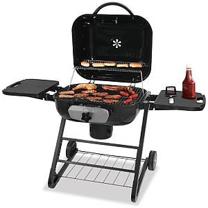 Large Deluxe Outdoor Charcoal Barbecue Grill