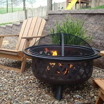 Oil Rubbed Bronze<br>Fire Bowl
