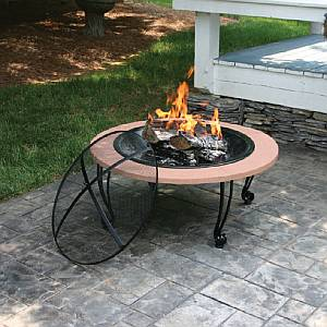 Wood Burning Outdoor Firebowl