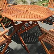 Octagonal Outdoor Table