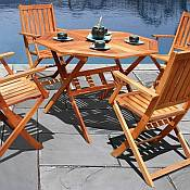 Octagonal Outdoor Dining Set
