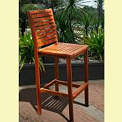 Dartmoor Teak Bar Stool