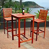 The Dartmoor Teak Bar Set