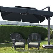 Milano 10ft x 10ft Side Post Umbrella - UM330P