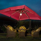 Milano Pro 10ft x 10ft Side Post Umbrella - UM333P