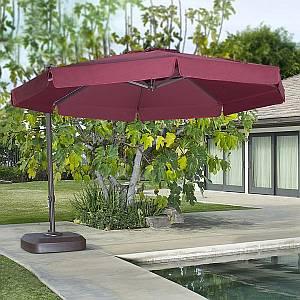 Venezia 11.5ft Octagon Side Post Umbrella - UV630P