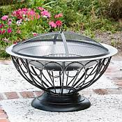 Urn Fire Pit Stainless Steel Firebowl