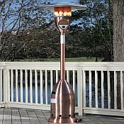 Copper Finish Deluxe Patio Heater