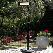 Offset Pole Mounted Infrared Patio Heater
