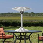 Halogen Stainless Steel Table Top Patio Heater