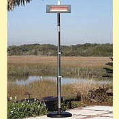 Infrared Patio Heater Offset Pole Mount