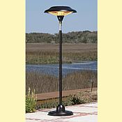 Hammer Tone Bronze Floor Patio Heater
