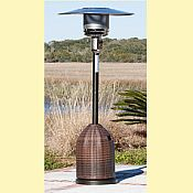 Fire Sense 46,000 BTU LPG Wicker Patio Heater
