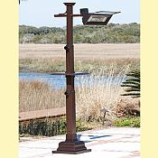 Mission Pole Mount Infrared Patio Heater w/ Table